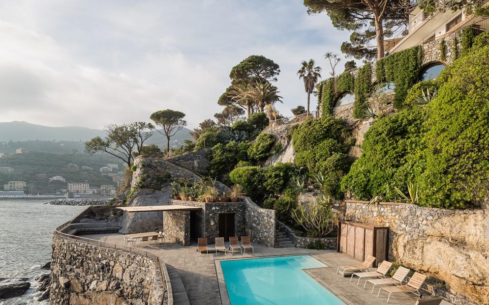 05 Casa con piscina-Liguria 1