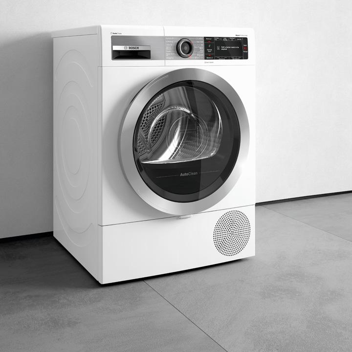 11 Bonus Elettrodomestici 2021_Bosch_asciugatrice_WTX87EH9IT_AutoClean dryer