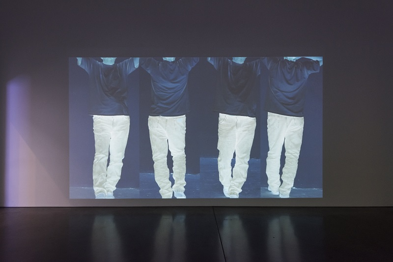 Bruce Nauman, Contrapposto Studies, I through VII, 2015-16. Pinault Collection and Philadelphia Museum of Art. © Bruce Nauman  Artists Rights Society (ARS), New York