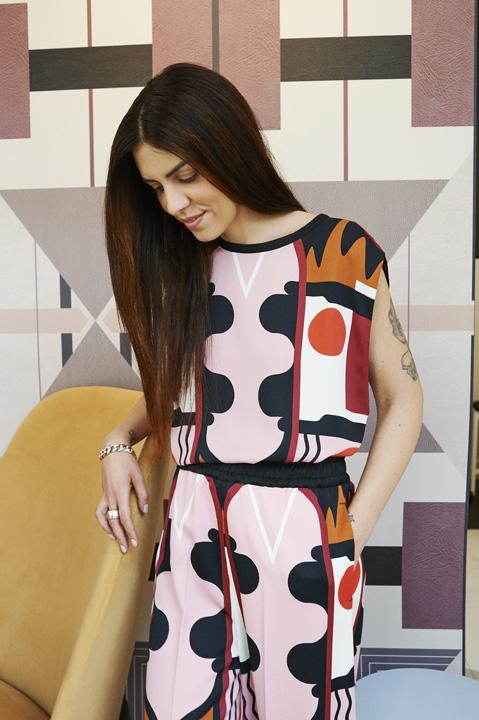 I pattern colorati di Elena Salmistraro conquistano Marella