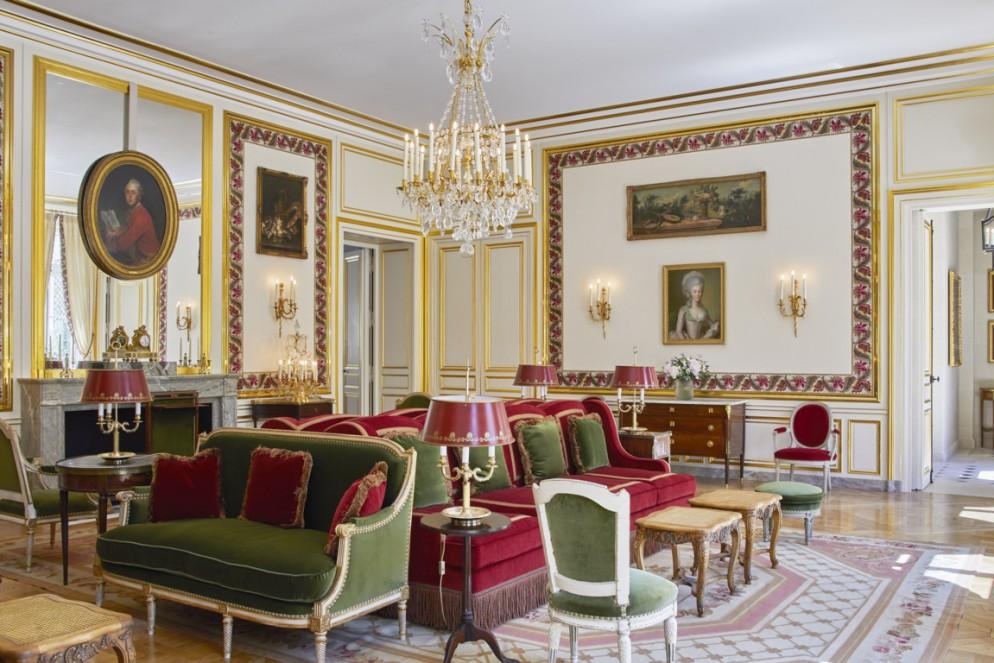Grand-Lieux Communs - Salon d'Audience