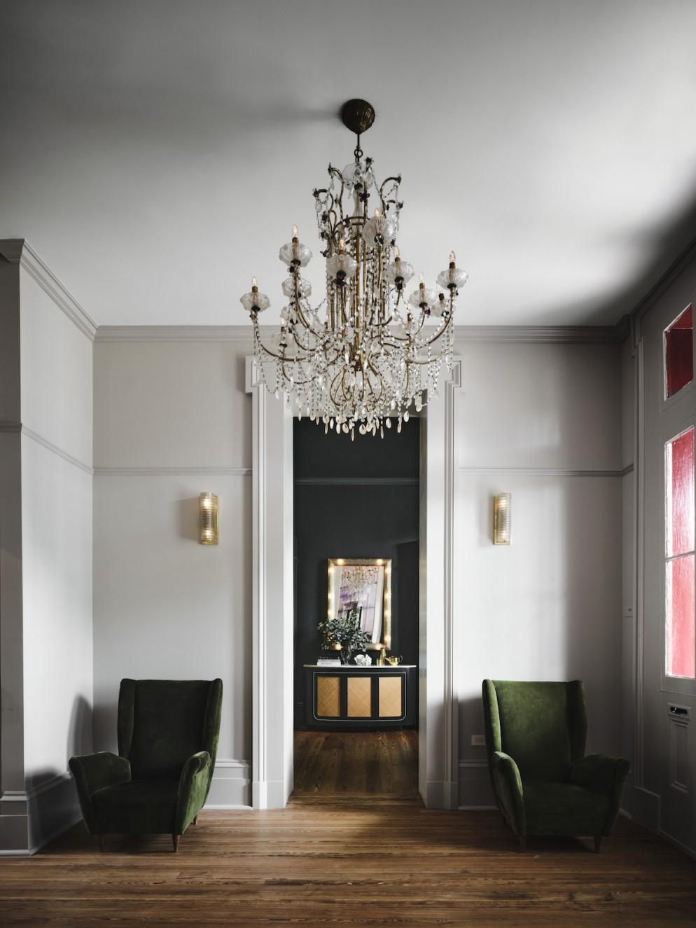 Hotel Saint Vincent -  Lobby 02 - by Douglas Friedman