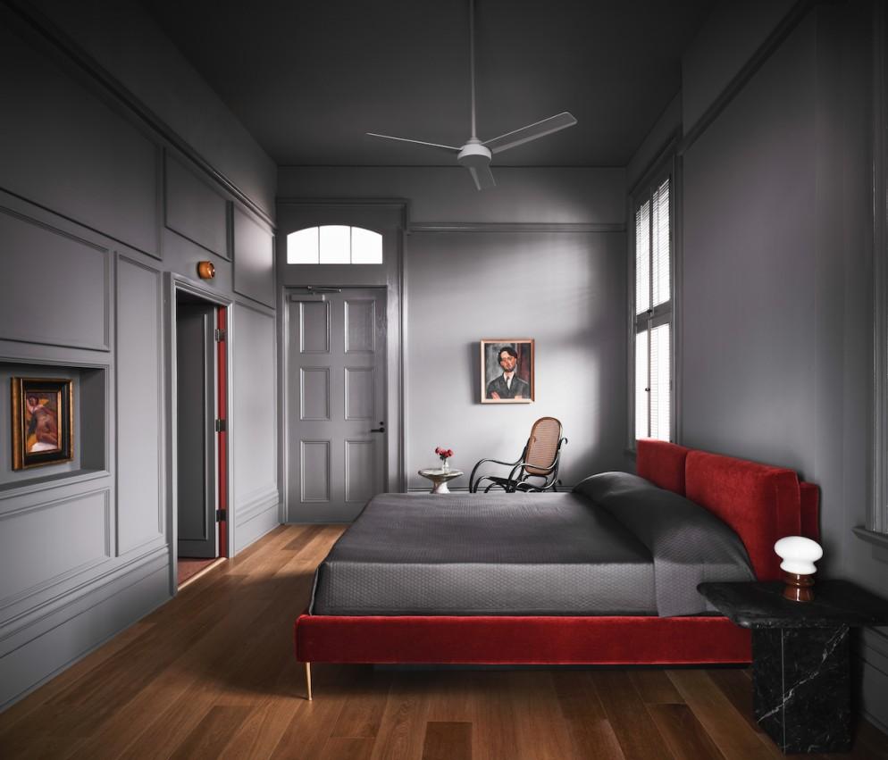 Hotel Saint Vincent - Room x Bedroom 01 - by Douglas Friedman