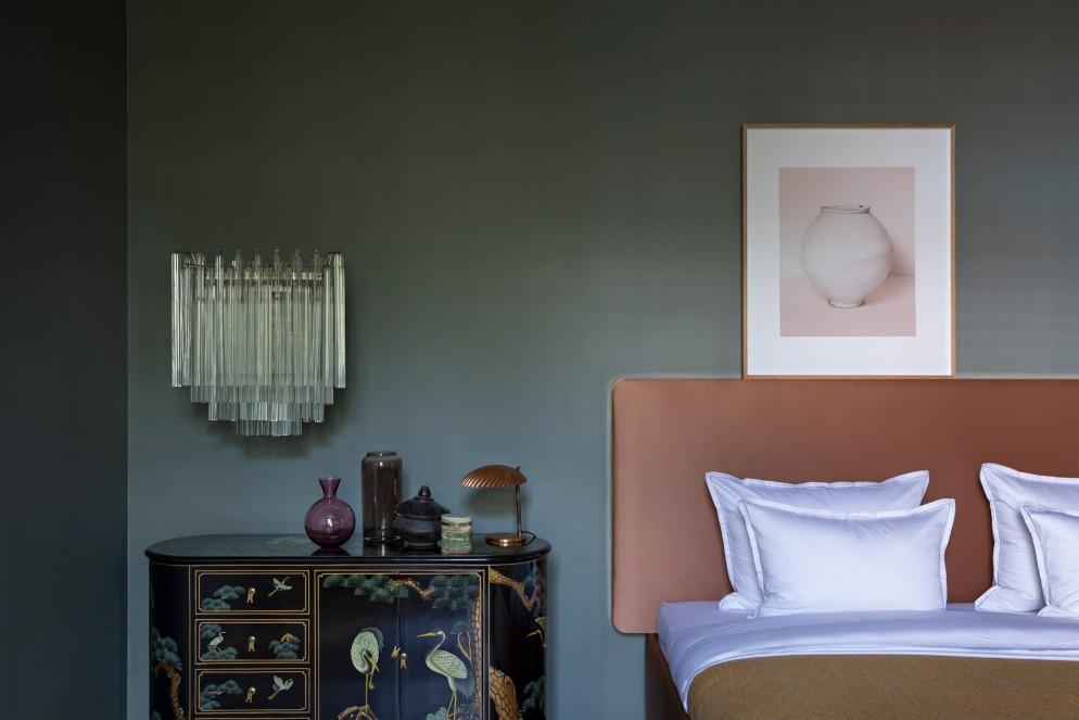 camera letto vintage