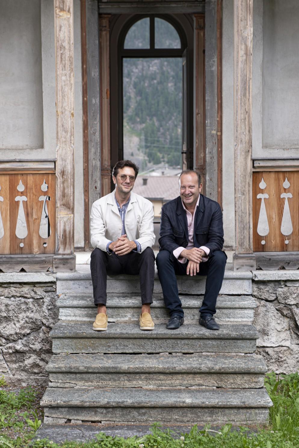 04_PS_NOMAD Summer Edition 2021 St. Moritz_NICOLAS BELLAVANCE-LECOMPTE & GIORGIO PACE Portrait 2_photo credit J'adore ce que vous faites!