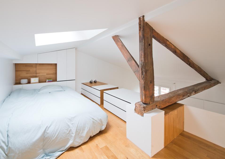 08 come arredare una mansarda camera da letto