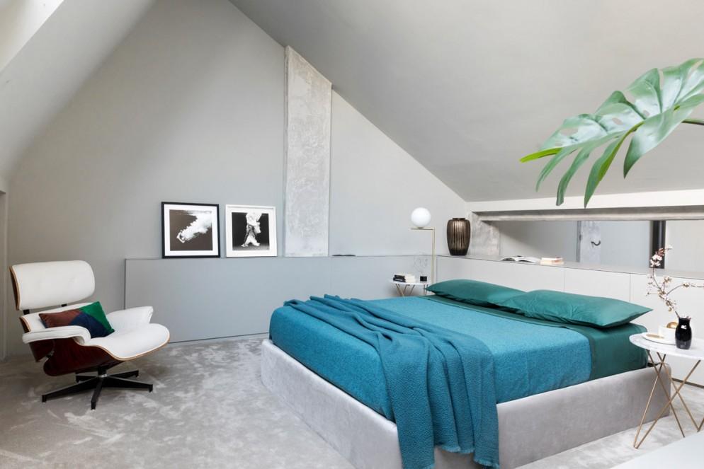 10 come arredare una mansarda camera da letto