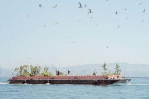 A bordo della nave-giardino di Studio Ossidiana in Turchia