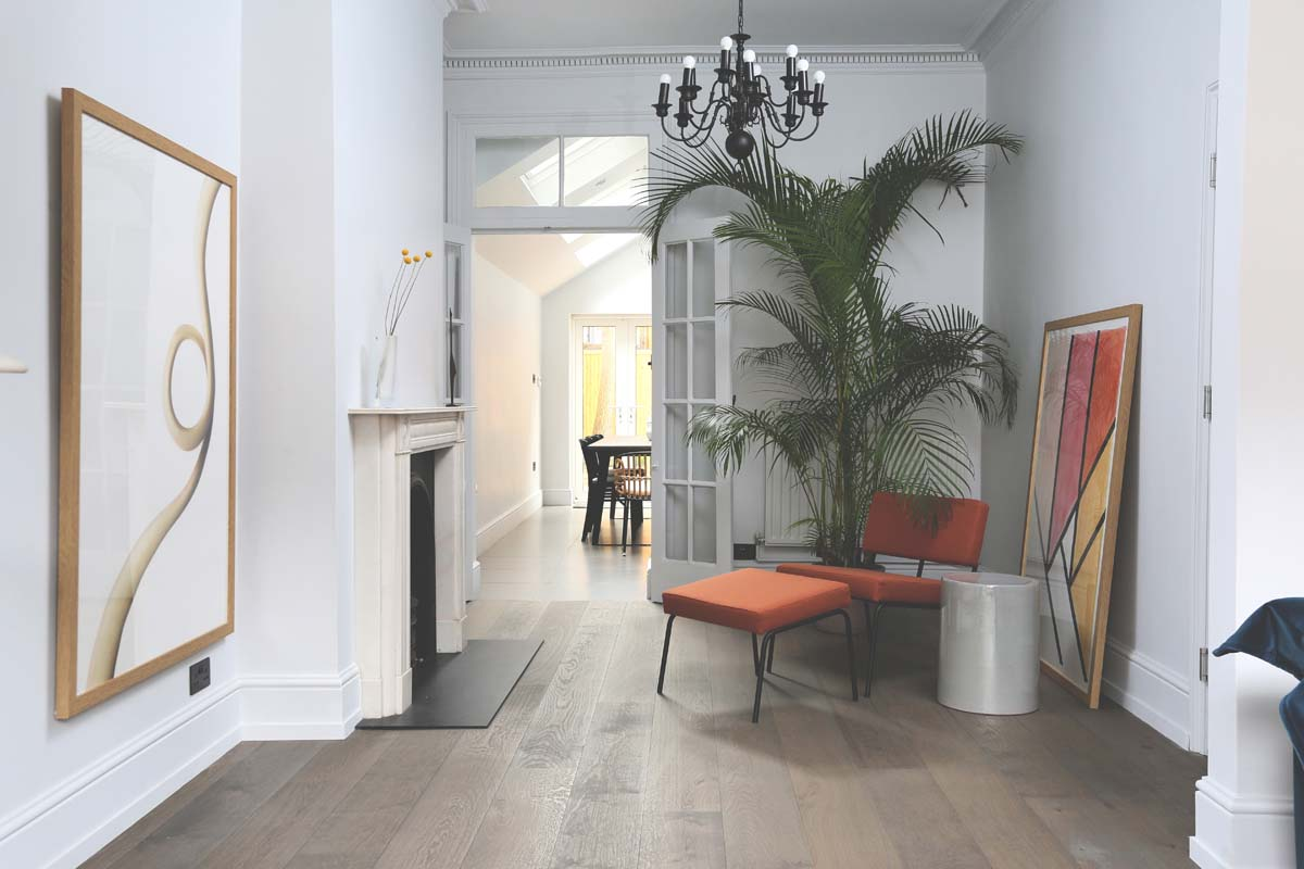 La calibrata nonchalance di una casa a Londra - Foto