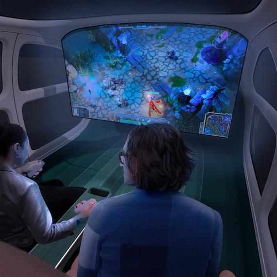 Gli interni della concept car Airo di Heatherwick Studio per IM Motors