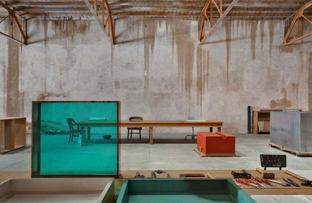 Uno degli edifici a Marfa-Art Studio-Foto Elizabeth Felicella Esto © Judd Foundation