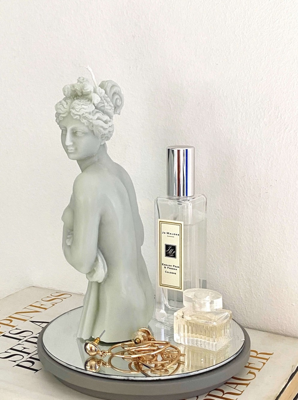 hot vintage candela scultura statua afrodite