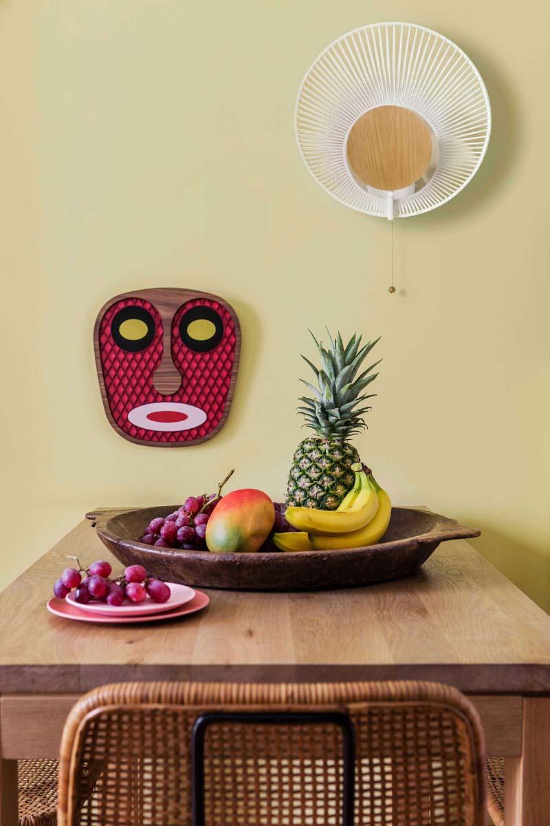 maschere decorative pareti