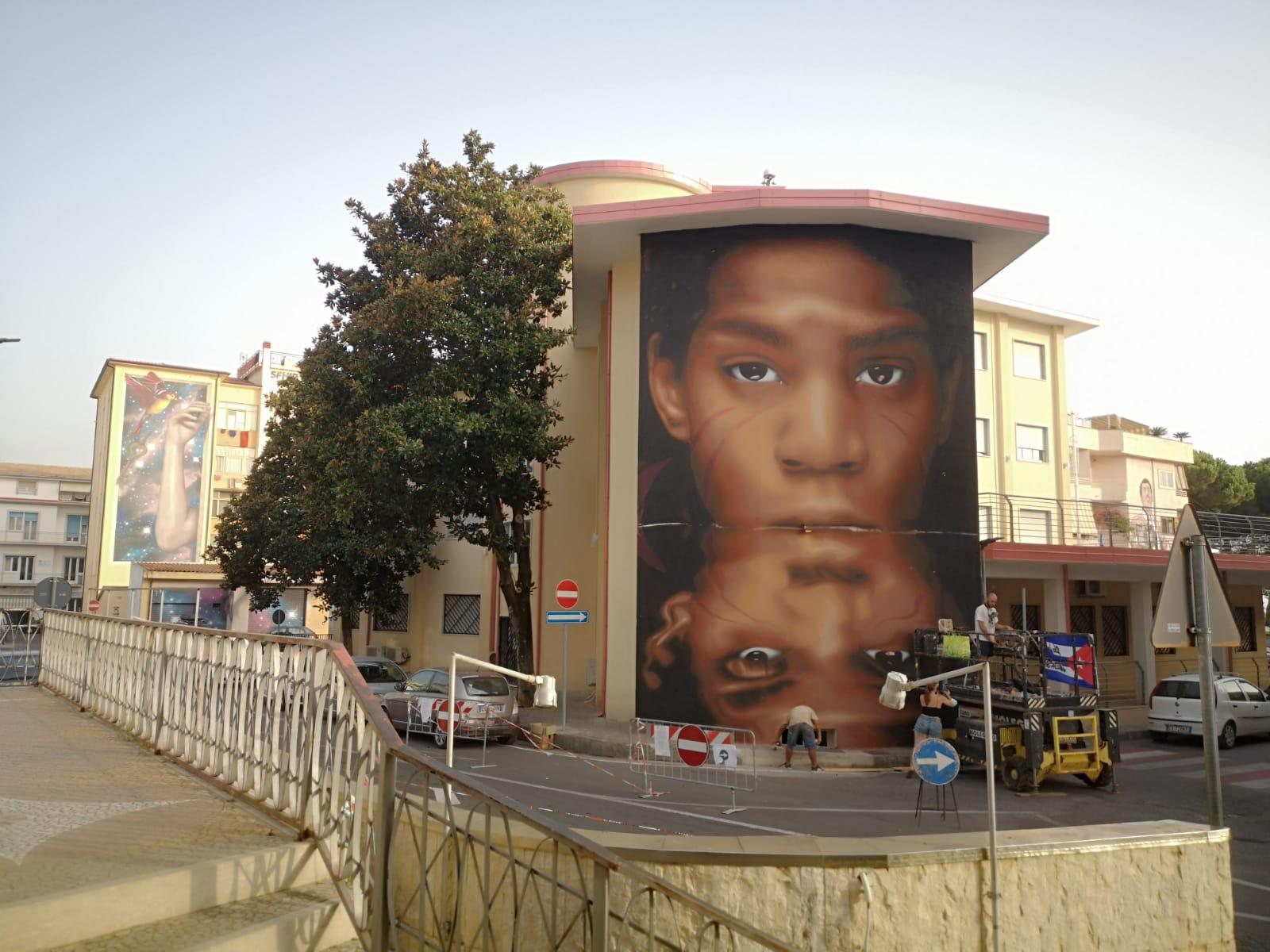 La street art invade la Calabria con Diamante Murales 40