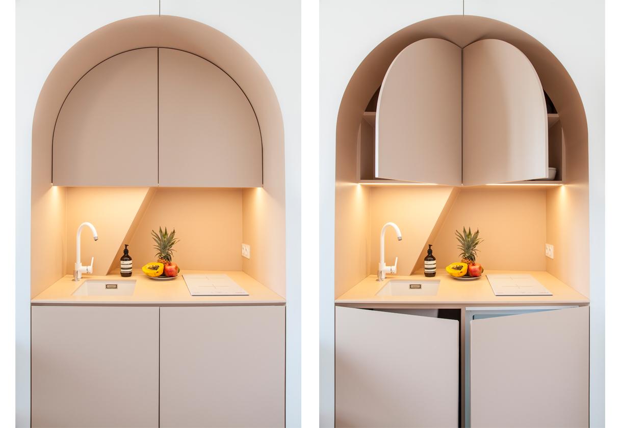 Cucina in un monolocale: idee e soluzioni