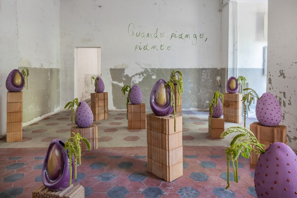 01 Contemporary Cluster_Semina di Sara Ricciardi per Rometti_Semilacrima ©Serena Eller