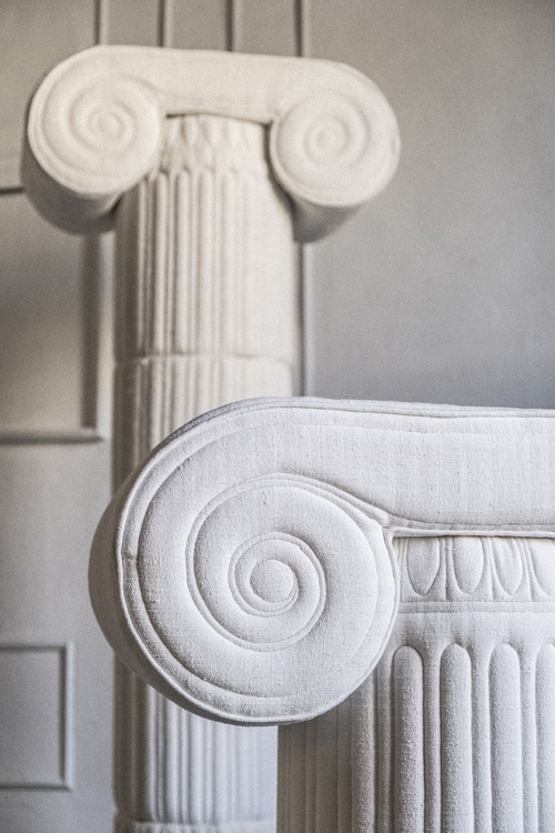 03 Sergio Roger_Textile Ruins_Ionic Column 2