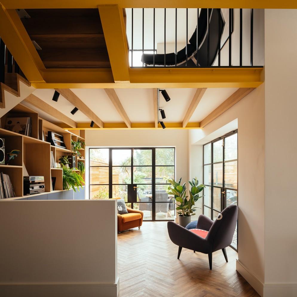 Brighton home by Life Size Architecture. Copyright Jim Stephenson 2020