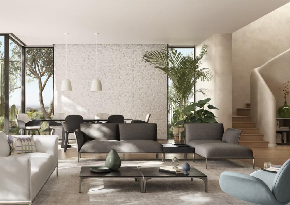Natuzzi Italia_Eufolia sofa_Marcel Wanders studio