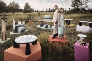 Elena Salmistraro e Matteo Cibic: «Il nostro immaginario onirico per Scapin Collezioni»