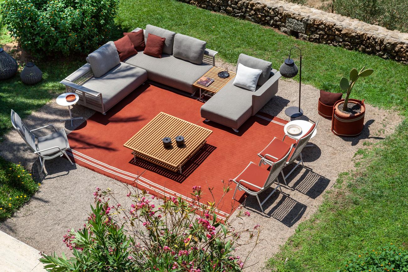 Solaria, design Ludovica + Roberto Palomba per Poltrona Frau