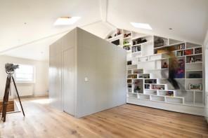 La libreria con le scale