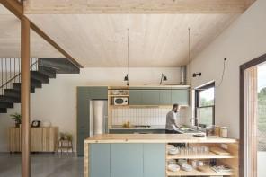 La casa spagnola in legno a basso impatto ambientale