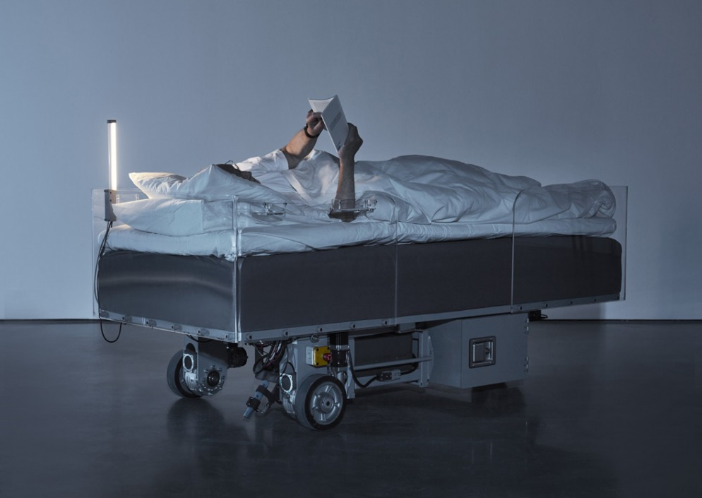 10 Carsten HollerTwo Roaming Beds_Foto Per Kristinsen