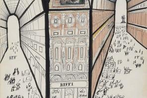 Milano in punta di matita nei disegni geniali di Saul Steinberg